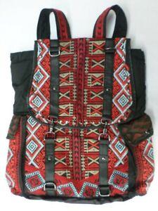 $298 NWT Biya Johnny Was Embroidered Lenora Backpack Bag - OL40020221