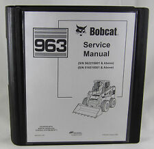 bobcat skid steer loader 963 service repair manual 6900988