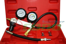 TU-21 CYLINDER LEAKAGE LEAKDOWN LEAK DETECTOR ENGINE COMPRESSION TESTER GAUGES