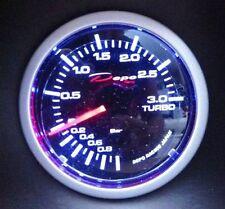 DEPO RACING Manometro Pressione Turbo Meccanico -1+3 bar DEPO Racing WS-MW5201B-