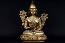 Tibet 20. Jh. Skulptur - A Tibetan Bronze Figure Of Tsongkhapa Tibetano Tibétain