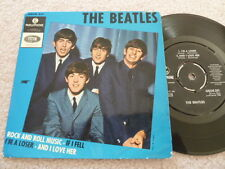 The Beatles Rock and Roll Music 45 RPM EP Vinyl Sweden Geos 231