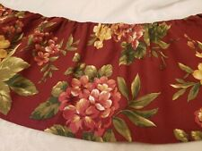 Waverly Garden Room Floral Manor Queen Bed Skirt French Country, Roses