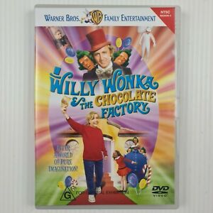 Willy Wonka And The Chocolate Factory DVD - Region 4 NTSC - TRACKED POST