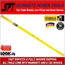 "STABILA 96-2/200 2m SPIRIT LEVEL TRADE RIBBED FRAME 2 Metre 200cm 2000mm 78"" New"