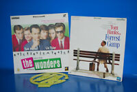 Laserdisc - Speciale Tom Hanks -the Wonders - Forrest Gump - 2 Film