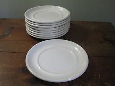 Wedgwood oven to table bread and butter plates white set of 9