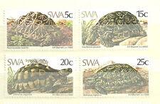 Südwestafrika-Namibia Schildkröten Satz postfrisch 1982 Mi. 516-519