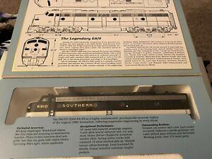 Proto 2000 Series E8/9 Locomotive HO Scale No. 21011 Southern 6910
