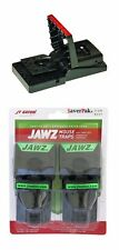 $averPak 2 Pack - JT Eaton Jawz Mouse Traps for use of Solid or Liquid Baits