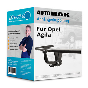 Für Opel Agila 09.2000-09.2002 AUTO HAK Anhängerkupplung starr neu