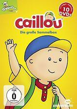 10 DVDs * CAILLOU - DIE GROSSE SAMMELBOX # NEU OVP §