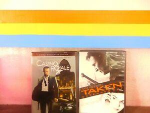 Lot of  2  Casino Royale  2-Disc Set / Taken (( DVD ,