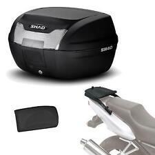 Kit fijacion y maleta baul trasero + respaldo pasajero regalo SH40 compatible c