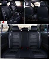 Car seat covers fit Skoda Rapid black  leatherette full set
