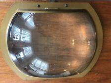 Vintage television screen magnifier lens