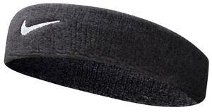 Nike- Swoosh Headband- Black-