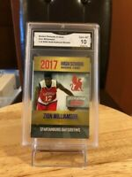 ZION WILLIAMSON ROOKIE CARD GRADED GEM MINT 10