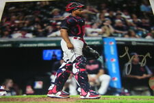 Francisco Mejia Signed 8x10 Cleveland Indians/San Diego Padres standing up