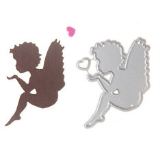 Cute Angel Boy Love Cutting Dies Scrapbooking Embossing Stencils Decor#CardFT