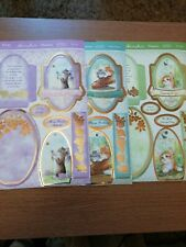 CRAFT ROOM CLEAROUT, X3 HUNKYDORY CAT EASEL CARD KITS