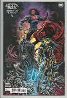 DARK NIGHTS DEATH METAL TRINITY CRISIS #1 (1:25) HOTZ VARIANT DC 2020 NM- NM