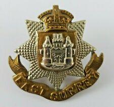 More details for victorian the east surrey regiment military cap badge - 2 lugs - tudar crown