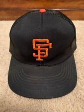 Vintage MLB San Francisco Giants Snapback Trucker Hat Mesh MLB