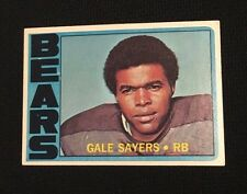 1972 GALE SAYERS TOPPS - CHICAGO BEARS - KANSAS JAYHAWKS - MVP