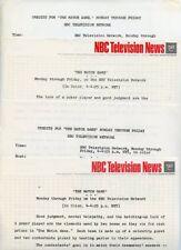 GENE RAYBURN THE MATCH GAME RARE ORIGINAL GAME SHOW 1967 NBC TV PRESS MATERIAL