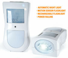 Emergency LED 4-in-1 Rechargeable Motion Sensor Flashlight Security Night Light