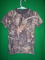 Camouflage Short Sleeve Shirt Youth size Small