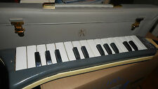 Hohner Melodica piano 26-Blech-Made in Germany-prima Zustand-Top Condition
