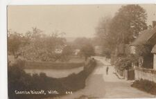 Coombe Bissett, Wiltshire Real Photo Postcard, B364