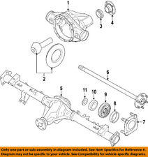 NISSAN OEM 04-07 Titan Rear Axle-Bearing Retainer 430827S210