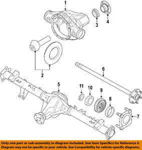 NISSAN OEM 08-15 Titan Rear Axle-Shaft Bearings 40210EB000