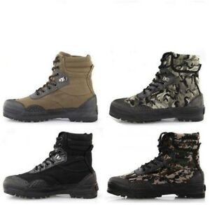 Mens Camo Combat Boots Casual Climbing Lace Up Outdoor Hiking Sports Sneakers sz
