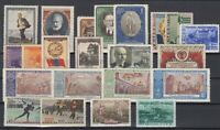 BE5808/ RUSSIA – 1951 / 1952 MINT SEMI MODERN LOT – CV 220 $