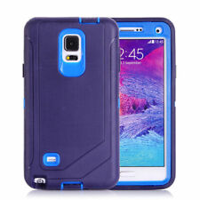 For Samsung Galaxy Note 4 Case,Shockproof With Screen Protector & Holster Clip B