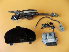 HONDA ACCORD MK7 2.2 CTDI '05 N22A1 ENGINE ECU LOCK SET KIT 2 KEYS 37820 RBD E51