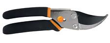 Fiskars Pro Bypass Pruner 5.5 In. Shears Garden Cutting Branches Stems Slip-Free