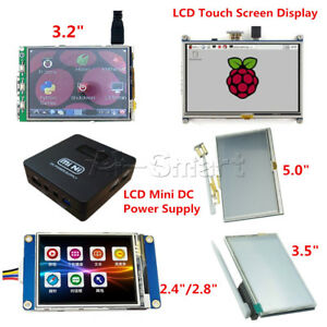 "TFT LCD Touch Screen Display for Raspberry Pi 3 / 2 / B+ 2.4 "" to 5"" HMI LCD"