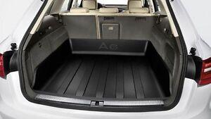 Geriffelte Kofferraumwanne für Audi A6 Allroad Quattro C6 4F5 Offroad Avant Ko3C