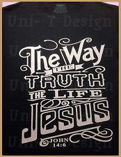 T Shirt, Custom Christian Clothing, Positive Messages, Jesus, Uni-T Design