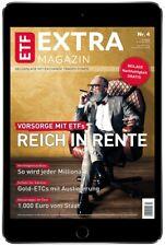 ETF EXTRA-MAGAZIN Digital [6 Monate] - Führende ETF Magazin - endet automatisch