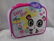 LITTLEST PET SHOP LUNCHBOX INSULATED SOFT PANDA SWEET STUFF THERMOS NEW ST41