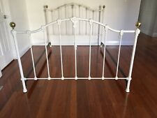 Wrought Iron Queen Bed Head Foot And Rails