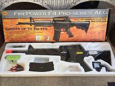 Electric Airsoft Palco M16 AEG F4 Pro Series Machine Gun Carbine Air Fire Power