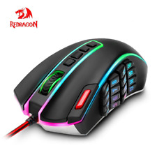 24 Buttons Gaming Mouse 24000DPI Laser Mice Programmable Buttons RGB Backlight