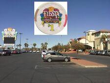 * Fiesta Hôtel-Casino-North Las Vegas 1 US Dollars $ puce Roulette Black Jack